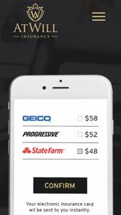 Car insurance │ Web design